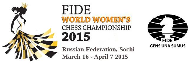 FIDE Womens World Chess Championship KO 2015 Logo