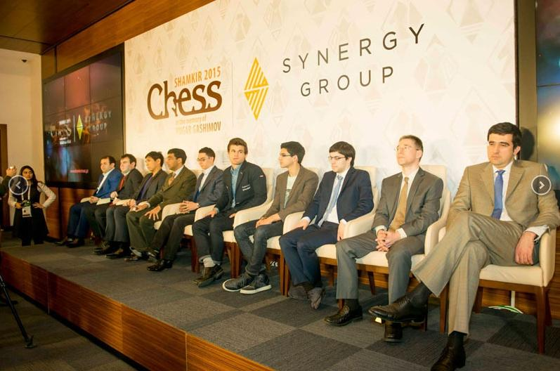 Gashimov Memorial 2015 participants tournament