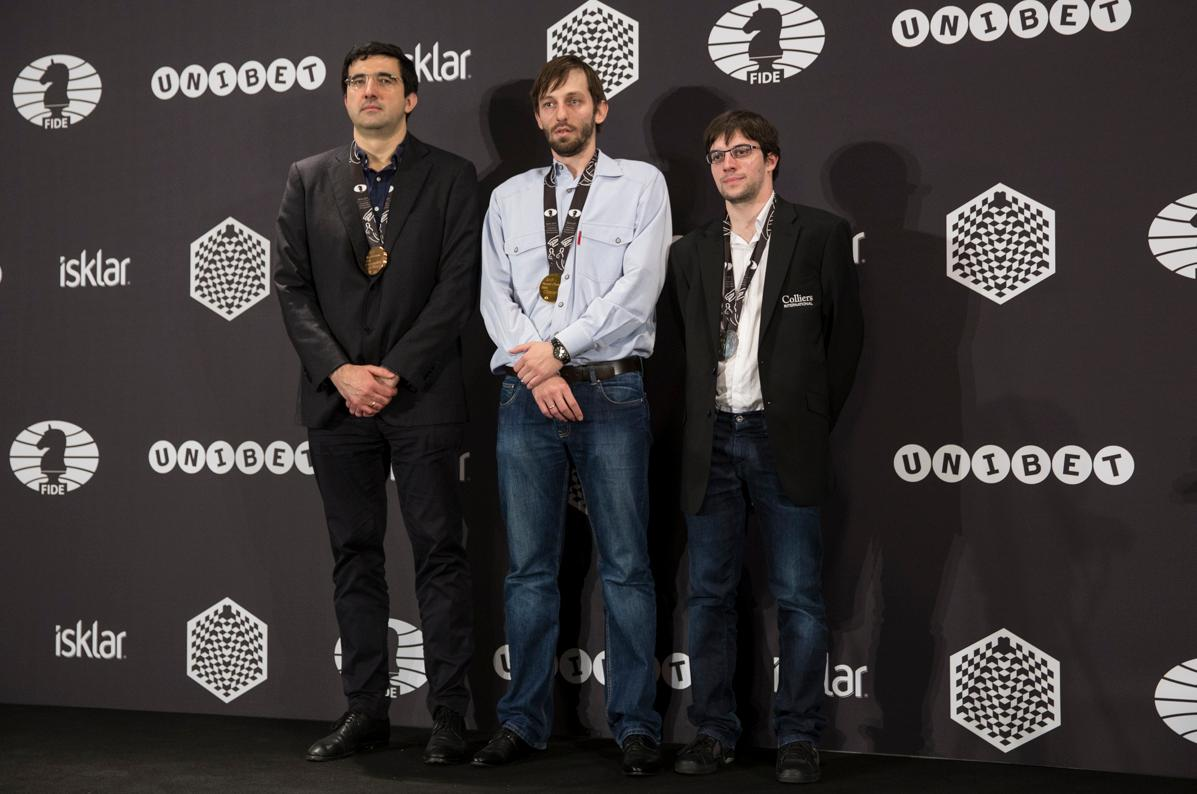 World Blitz Chess Championships 2015 Grischuk and Kramnik