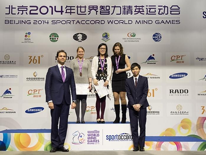 Hou Yifan World Mind Games 2014