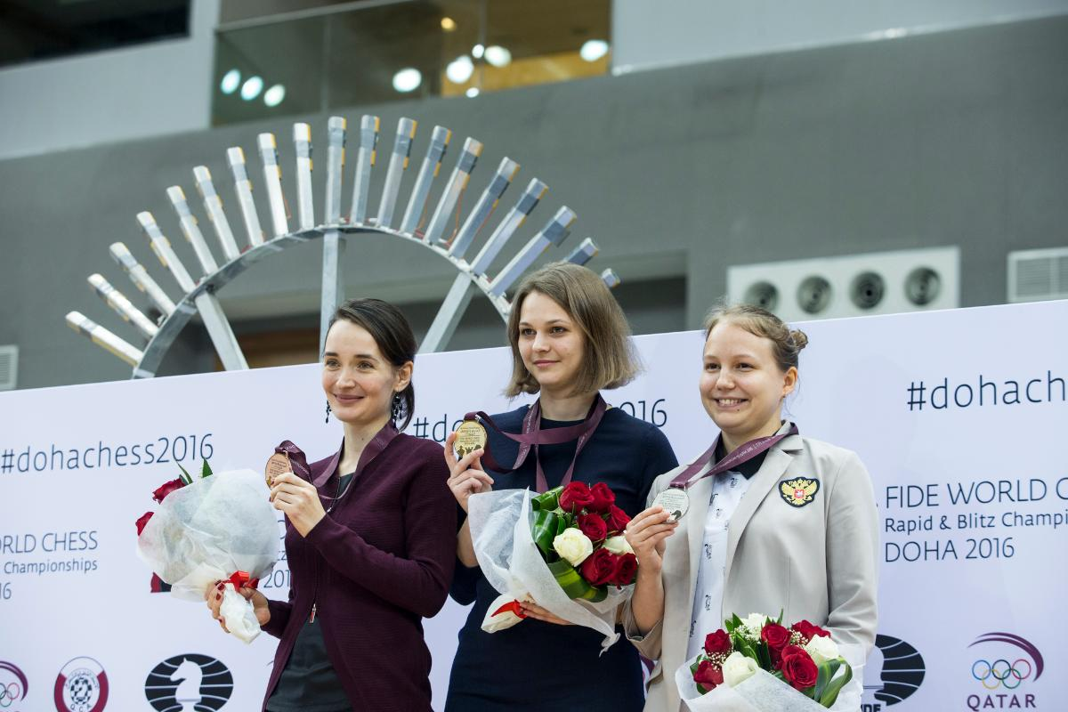 World Blitz Chess Championships 2016 Women