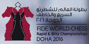 World Rapid and Blitz Chess Championships 2016 Logo 1