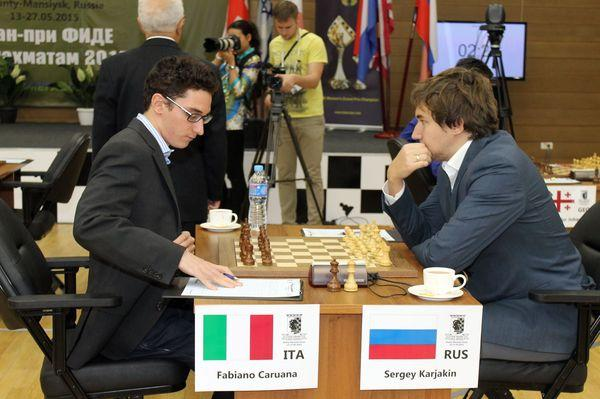 Fabiano Caruana. Terminator from the United States 2