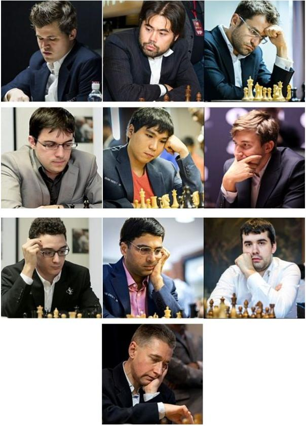 London Chess Classic 2017 Players