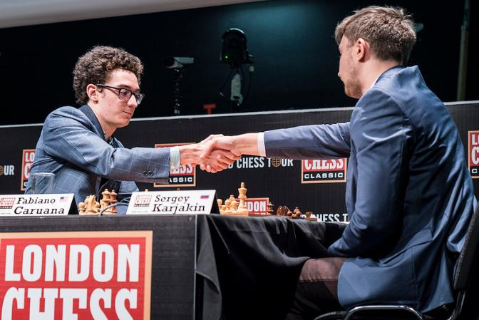 London Chess Classic Fabiano Caruana vs Sergey Karjakin