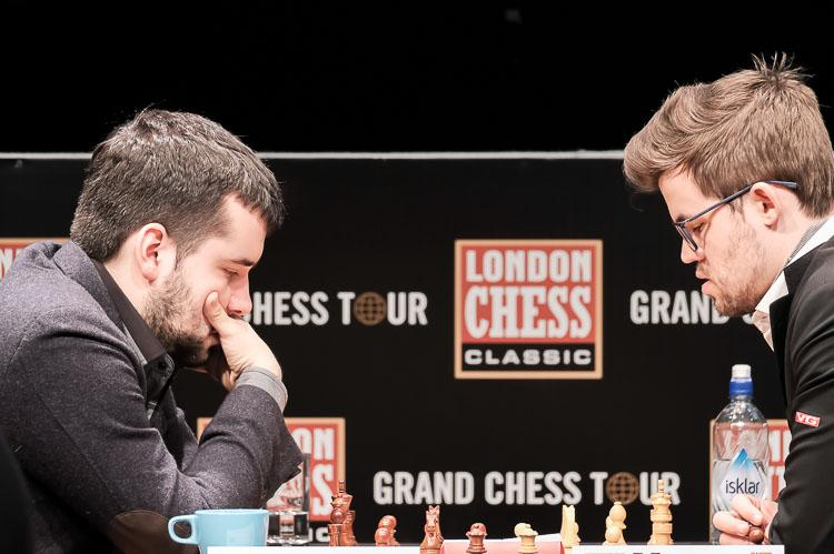 London Chess Classic Magnus Carlsen vs Jan Nepomniachtchi