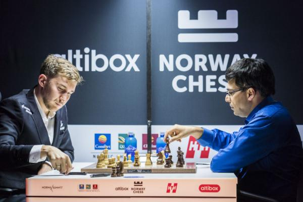 Norway Chess 2018 Karjakin vs VAnand
