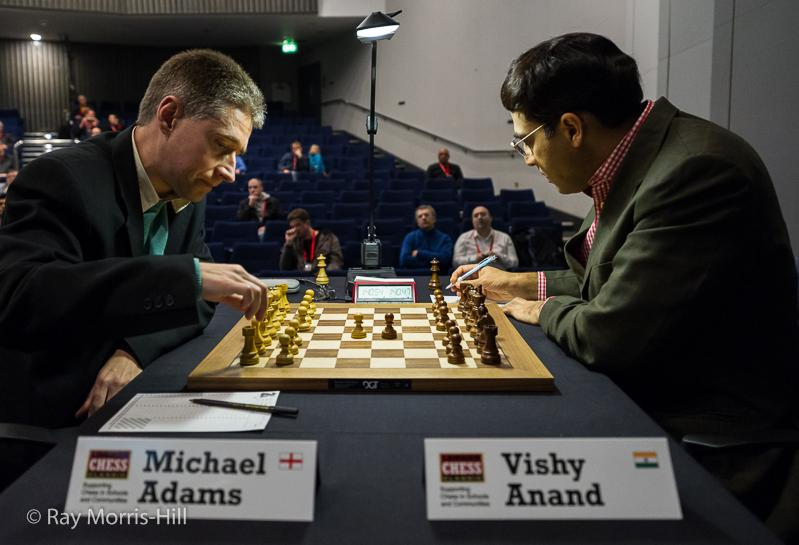 Adams Anand London Chess Classic 2014