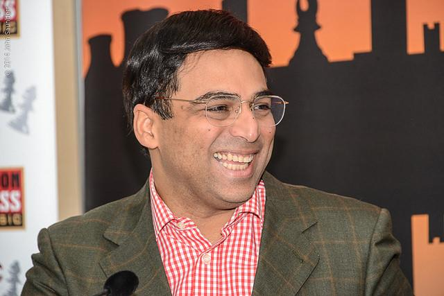 Viswanathan Anand London Chess Classic 2014
