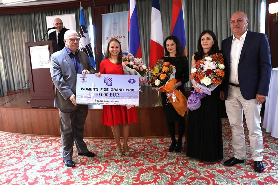 Womens Grand Prix Batumi 2016 clouse ceremony